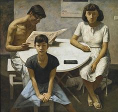 Liu Renjie (Chinese, b. 1951), Summer, 1994. Oil on canvas, 160 x 170cm.