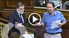 Este es el tenso cruce de acusaciones entre Mariano Rajoy y Pablo Iglesias hoy en la #SesiónDeControl  http://www.ledes.tv/es/noticias/actualidad-politica/video/arde-el-parlamento-con-el-enfrentamiento-de-pablo-iglesias-con-mariano-rajoy/4128    #FelizMiercoles #MpuntoRajoy #PP #Podemos #Venezuela