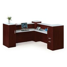 Find a quality Reception Desk with Lockable Storage - - 8803738 and other Browse All Office Furniture Locking Storage Cabinet, Grey Laminate, Wardrobe Cabinets, Hanging Files, Work Surface, Office Furniture, Desk Office, Baseboards, Corner Desk