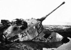 A German Tiger II tank stuck near Lake Balaton Hungary. Tiger Ii, Army History, German Soldiers Ww2, Tiger Tank, Battle Tank, World Of Tanks, Ww2 Tanks, Military Photos, Military Weapons