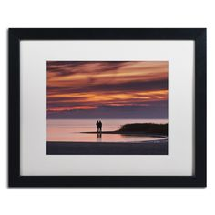 Michael Blanchette Photography 'Pastoral Reflection' Matted Framed Art