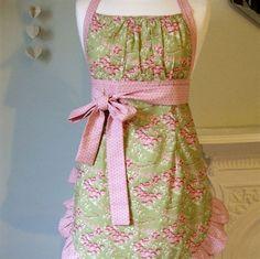 Blanche apron by Pinnikity