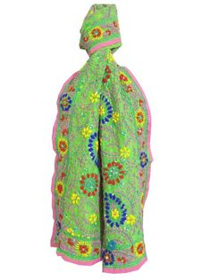 Add glamour to any of your dress with our gorgeous handembroidered  phulkari stoles. Get quality ethnic products and great service with GiftPiper.com. Pay COD, 15 day returns (Resellers are welcome- WhatsApp us on 9902488133) 15% Discount on Orders Above Rs 1000 with voucher code-FACEBOOK. Details at   http://www.giftpiper.com/product/chanderi-cotton-silk-phulkari-stole-green