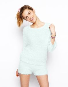 ASOS | ASOS Knitted Fluffy Sweater at ASOS