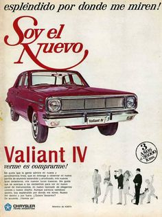 VALIANT IV, Argentina, 1966.