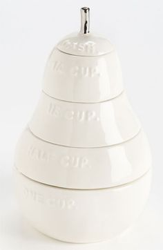 Rae Dunn by Magenta 'White Pear' Measuring Cups available at #Nordstrom