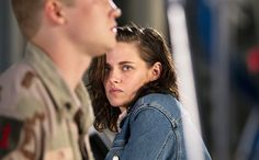 """""""I would've done anything with him, but I actually, ultimately did one of the coolest parts that I've done in a really long time with him over the course of four days,"""" Kristen Stewart said of Ang Lee, her director on Billy Lynn's Long Halftime Walk."""