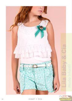 Blusa e Shorts Diforini