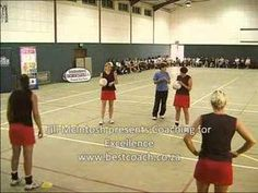 Netball Coaching for defending in the circle Netball Quotes, Netball Coach, Kids Sports, Drills, Recovery, Coaching, Basketball Court, Training, Youtube