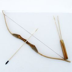 What a great way to introduce a youth to the sport of archery with this wooden toy bow and arrow with quiver and pack of 3 arrows. This youth set is made from wood with the same principals of a huntin...