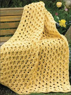 Crochet pola tusuk kerang lacy shell simple shell stitch shadow box trellis afghan ccuart Image collections