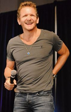 Sebastian  Roche - poster child for ADHD.  He is full of swearwords and elementary boy humor...but very sweet.  He cannot be contained.  #ChiCon2013