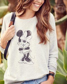 c369b3e97ac Minnie Mouse Sweatshirt by David Lerner Minnie Mouse Sweatshirt