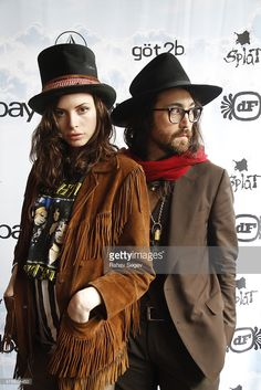 Charlotte Kemp Muhl and Sean Lennon attend eBay Giving Works and Nylon Launch MusiCares Auction during SXSW 2014 on March 14, 2014 in Austin, Texas.