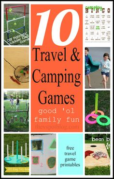 The V Spot: 10 great travel and camping games. The V Spot: 10 great travel and camping games. Camping 2, Camping Style, Camping With Kids, Family Camping, Camping Hacks, Camping Holiday, Camping Lights, Camping Trailers, Camping Checklist