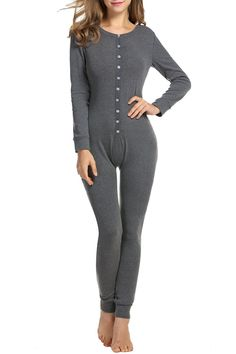 HOTOUCH Women's Thermal Underwear Set Long Johns for Women M-XXL -- For more information, visit image link.