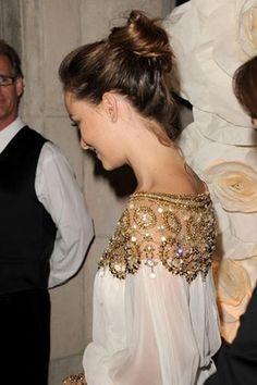 shoulders embellished