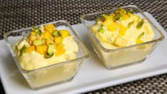 Mango Shrikhand is a refreshing yogurt based sweet dish. Shrikand with mango makes it a very delicious dessert. This exotic dessert is easy to prepare and Shrikhand is often served with poori. Gf Recipes, Cookbook Recipes, Cooking Recipes, Recipies, Cooking Tips, Refreshing Desserts, Delicious Desserts, Dessert Healthy, Vegetarian Cooking
