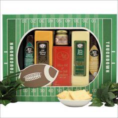 Stadium Treats Cheese and Snacks Gift Set