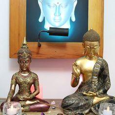 """""""Tudo é uma questão de manter... A mente quieta, a espinha ereta e o coração tranquilo."""" ✌    Artes & Decor Zen ☞ www.artesintonia.com.br ☜    Namastê! 🕉"""