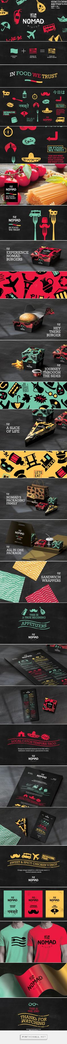 Nomad Bistro Branding by Studio AIO on Behance   Fivestar Branding – Design and…