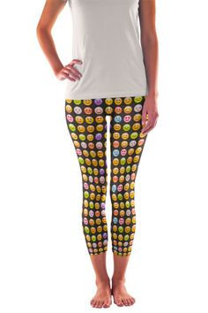 Fun printed leggings for Yoga, Dance, Surf, Active Leggings