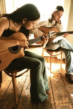 love eclectic music...like Rodrigo y Gabriela...have yet to channel my inner Gabriela enough to practice on my guitar...but the thought is there.