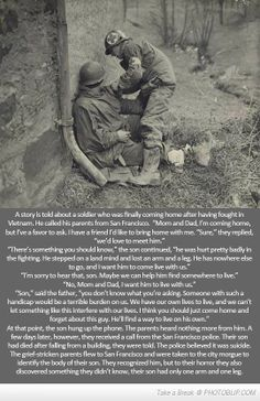 Heart breaking war story