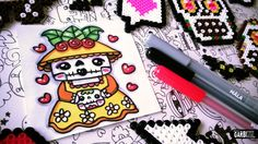 Day of the Dead Drawings - How To Draw Cute Catrina by Garbi KW