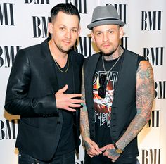 Joel & Benji Madden (musicians) [Mar 11, 1979] They founded and play in the band Good Charlotte