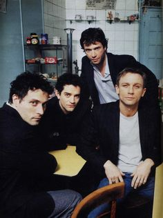 Rufus Sewell, James Frain, James Purefoy and Dainiel Craig