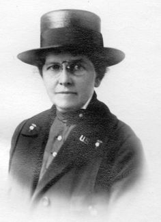 Photograph of Mary E. Sheehan, nurse, World War I. Tully, New York. / Date: circa 1915  / New York State Archives