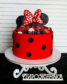 551 отметок «Нравится», 21 комментариев — Торты на заказ. Евгения (@piro_jenka) в Instagram: «Не только дети любят минни, торт между прочим на 25 лет. Вот уши от @lolya_pryanya #piro_jenka…»