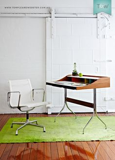 Monique Rappell writes for the Temple & Webster blog about the Eames Aluminium Group management chairs.