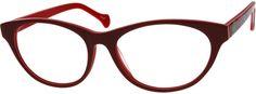 RedAcetate Full-Rim Frame with Spring Hinges