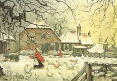 Пение птиц. _ Vogelenzang by Anton Pieck