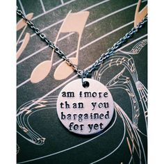 Fall Out Boy Hand Stamped Necklace ($10) ❤ liked on Polyvore featuring jewelry, necklaces, 28. necklaces., hand stamped necklace, circle necklace, hand stamped jewelry, circle jewelry and pendant necklace