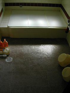 Bath (Ofuro) at Pension Sketchbook  by CharleyMarley, via Flickr