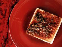 Fresh cold tofu. Roland Bello photo.