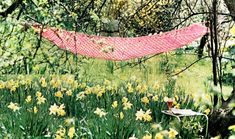 PDF 1970s Boho Summer Lacy Hammock Crochet by TheAtticofKitsch