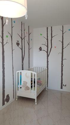 Disegno a parete. Colori acrilici, by Annalisa Tombesi.