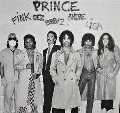 Prince and the Revolution (I guess no Wendy yet)
