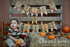 Halloween Mini Session 2013 fall mini hay bale outside pallets cheree carnes photography #chereecarnesphotography Facebook.com/chereecarnesphotography