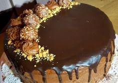 Nutella torta🍰   Timcsi receptje - Cookpad receptek Nutella, Cake, Desserts, Food, Tailgate Desserts, Deserts, Kuchen, Essen, Postres