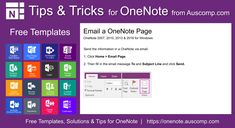 20935 Best FREE MS OneNote Templates images in 2019