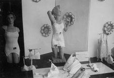 De etalage van de corsettenwinkel Hunkemöller Lexis...