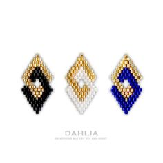 beaded earrings making Beaded Earrings Patterns, Seed Bead Patterns, Peyote Patterns, Diy Earrings, Beading Patterns, Hoop Earrings, Seed Bead Jewelry, Bead Jewellery, Bead Earrings
