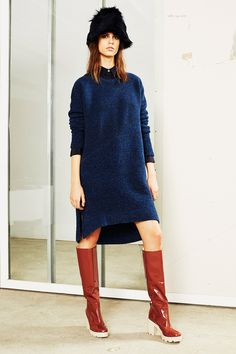 Love these fabrics. 10 Crosby Derek Lam | Fall 2014 Ready-to-Wear Collection | Style.com