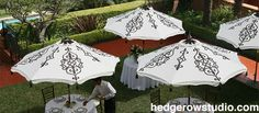 Hand-painted custom print pattern patio umbrellas and garden umbrellas. Buy commercial quality patio umbrellas at this site. Our clients include luxury hotels and designers who order their patio umbrellas here. Color Patterns, Print Patterns, Commercial Umbrellas, Patio Umbrellas, Windy Day, Outdoor Living, Outdoor Decor, Studio Lighting, Hedges