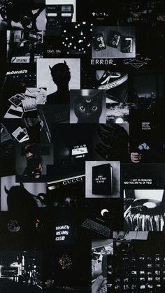 Black And White Wallpaper Iphone, Dark Background Wallpaper, Cute Black Wallpaper, Purple Wallpaper Iphone, Galaxy Wallpaper, Galaxy Lockscreen, Black Walpaper, Walpaper Iphone, Mood Wallpaper